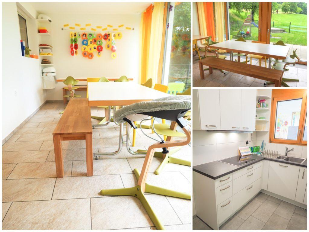 Essbereich, Küche Kita Grittpark