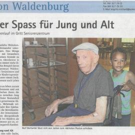(Deutsch) Artikel aus Oberbaselbieter Zeitung vom 31. August 2017
