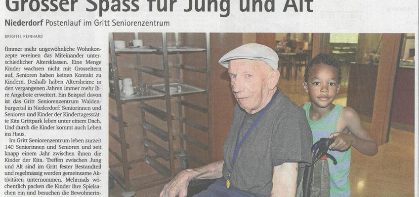 Artikel aus Oberbaselbieter Zeitung vom 31. August 2017