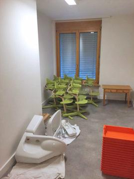 Umbau Kita Rössli, Niederdorf